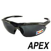 APEX 805運動型太陽眼鏡- 灰