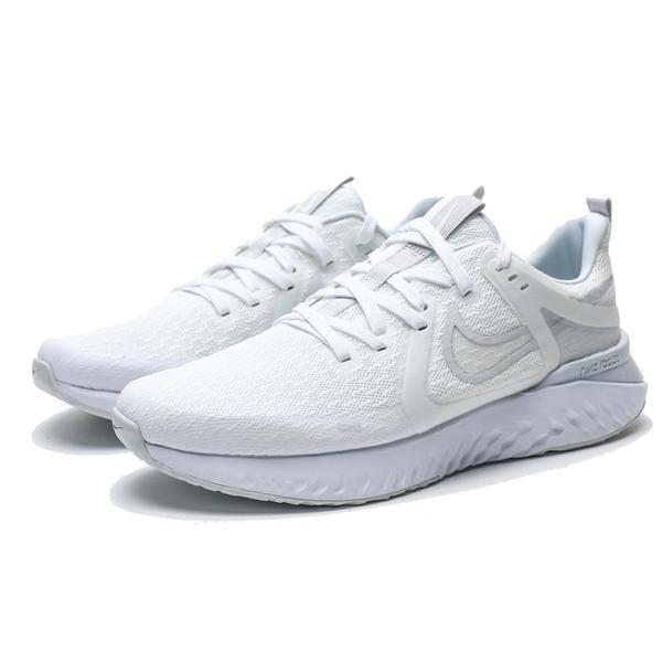 NIKE LEGEND REACT 2 全白 白 網布 緩震 回彈 訓練 慢跑鞋 男 (布魯克林) AT1368-100