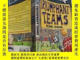 二手書博民逛書店triumphant罕見teams 勝利的隊伍,,Y200392