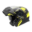 【東門城】ASTONE RT1000 AB15(消光黑螢黃) 可掀式安全帽 雙鏡片