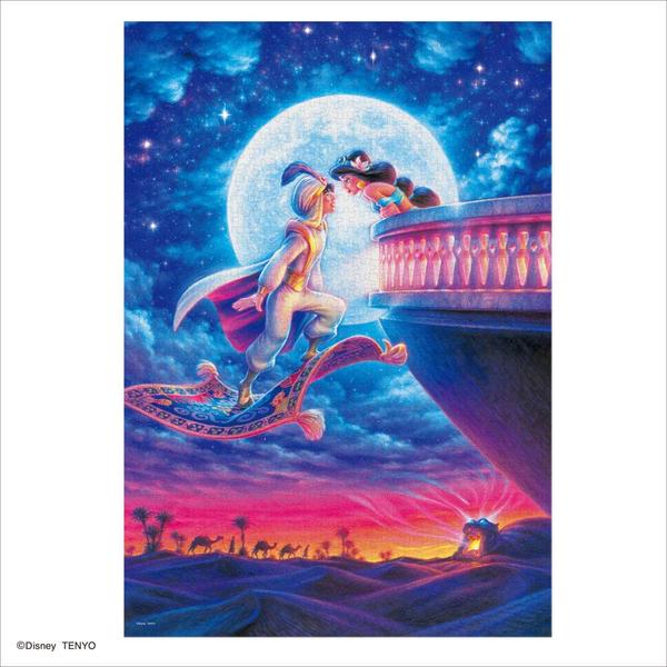 Tenyo拼圖 1000發光片 阿拉丁月光下的浪漫_BF94042