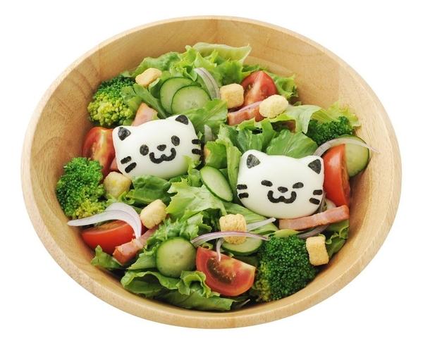 日本 ARNEST 可愛 貓咪 水煮蛋 壓模 親子創意料理 1組 【7185】