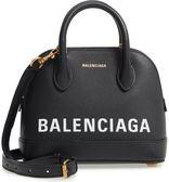 ■專櫃85折■ Balenciaga 2018秋冬全新真品 Ville Top Handle XXS 小牛皮兩用包 黑色