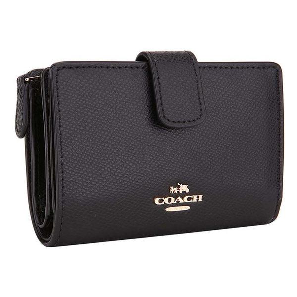 COACH  54010 新品女款牛皮短夾錢包