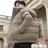 冬季裝棉服2019年新款外套男士潮牌韓版帥氣棉襖加厚寬鬆羽絨棉衣  自由角落