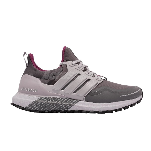 【海外限定】adidas 慢跑鞋 Ultraboost C.RDY DNA W 灰 紫 反光 愛迪達 女鞋 【ACS】 FZ3618
