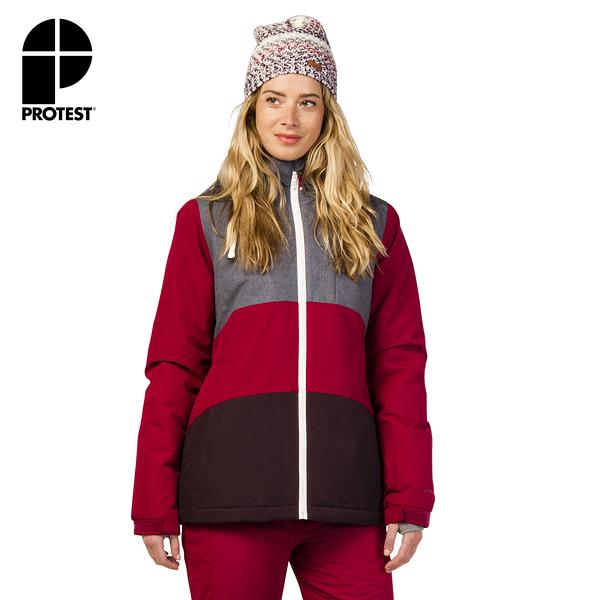 PROTEST 女 機能防水保暖外套 (蘿蔔紅) CLEAR SNOWJACKET