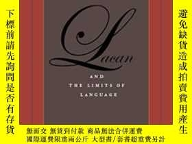 二手書博民逛書店【罕見】Lacan And The Limits Of LanguageY27248 Charles Shep