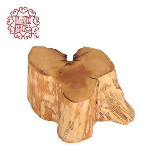 天然造型黃楊木切香板 香道用具