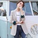 小西裝外套女2020新款春秋黑色上衣秋季韓版西服英倫風設計感小眾 小艾新品