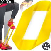 迷你環狀彈力帶20~30磅.乳膠阻力繩.拉筋阻力帶拉力帶彈力繩瑜珈拉力圈擴胸器舉重量訓練復健輔助