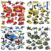 兼容拼裝套裝軍事飛機坦克大炮男孩兒童積木玩具6-8-10-12歲HRYC 萬聖節禮物
