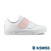 K-SWISS Court Lite Velcro時尚運動鞋-女-白/粉紅