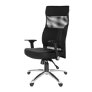 GXG 高背電腦椅 (摺疊滑面扶手/大腰枕) 型號159 LUA1J