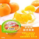 日本多良見 綜合果凍230g