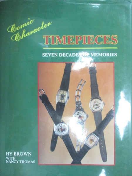 【書寶二手書T6/收藏_YBW】Comic Character Timepieces-Seven Decades of