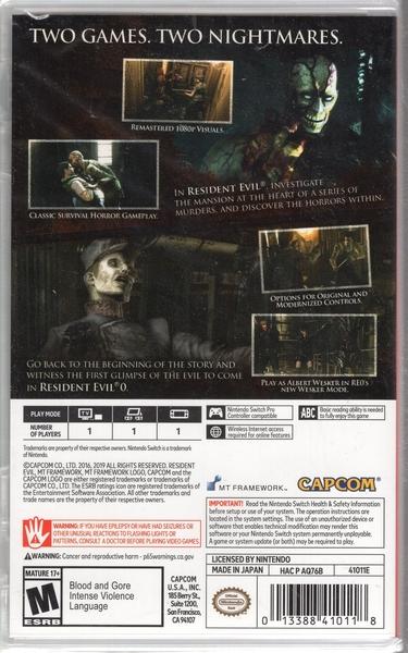 【玩樂小熊】Switch遊戲NS 惡靈古堡 起源精選輯 RESIDENT EVIL Origins Collect中文版