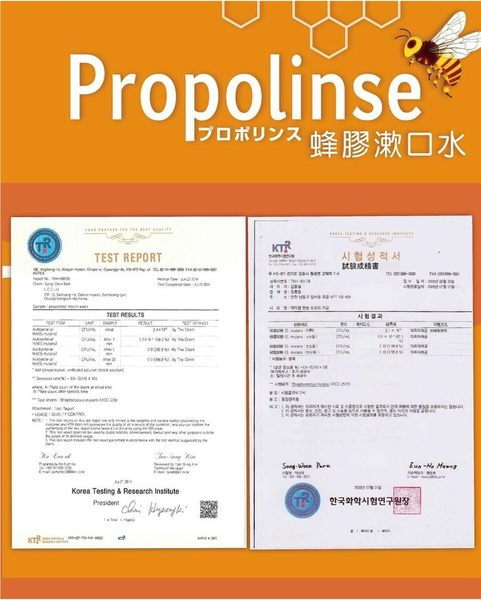 日本Propolinse 蜂膠潔白漱口水 600ml (白色)*1