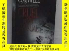 二手書博民逛書店英文原版罕見Cruel and Unusual by Patri