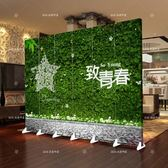 屏風隔斷客廳簡約現代房間移動折疊玄關簡易雙面布藝中式折屏屏風xw