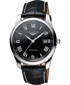 LONGINES 浪琴 Master 巨擘系列羅馬機械腕錶/手錶-黑 L27934517