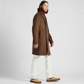 男裝羊毛混紡長大衣 潮流衣舍