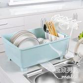 廚房塑料帶蓋瀝水碗架LVV1049【極致男人】
