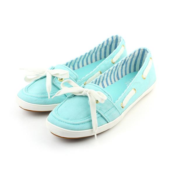 Keds TEACUP BOAT AQUA 懶人鞋 帆布鞋 船型鞋 湖水綠 淺綠 女鞋 9161W131770 no189