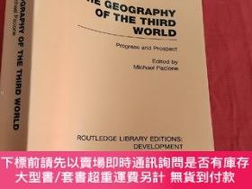 二手書博民逛書店The罕見Geography of the Third World: Progress and Prospect