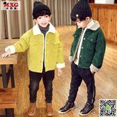 兒童外套 米西果童裝兒童外套洋氣 秋冬新款加絨加厚韓版潮款男童中大童 小宅女