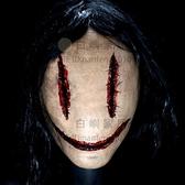 恐怖女鬼面具密室逃脫鬼屋劇本殺嚇人日本泰國恐怖道具NPC萬聖節【白嶼家居】