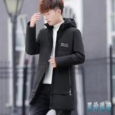 男士棉衣冬季中長款羽絨棉服2019新款潮流帥氣加厚襖子男冬裝外套 JY14477『男神港灣』