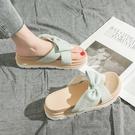 增高拖鞋 仙女涼拖鞋女夏時尚外穿防滑新款增高厚底一字鞋拖沙灘鞋-Ballet朵朵
