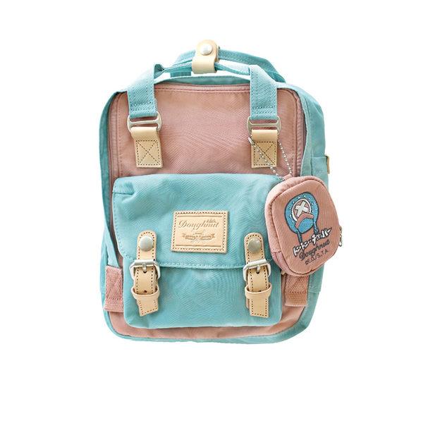 DOUGHNUT x ONE PIECE航海王馬卡龍mini包喬巴款(夢幻粉)包包+零錢包組