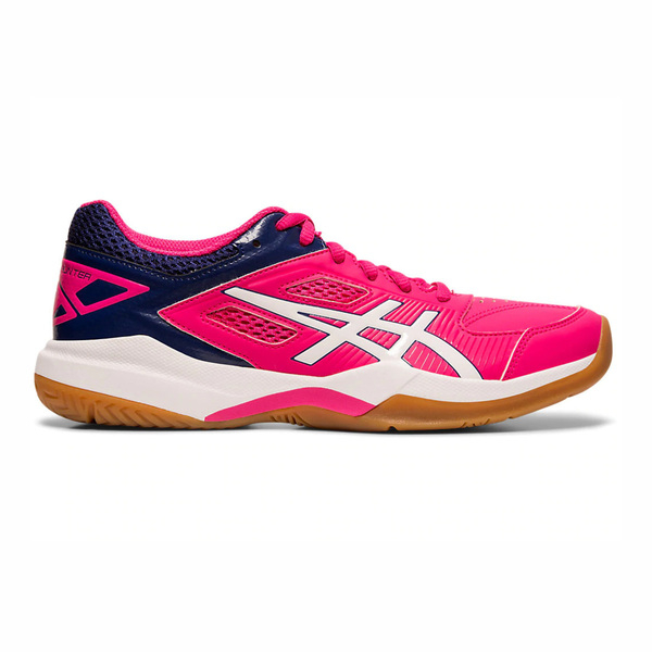 Asics GEL-Court Hunter [1072A015-500] 女鞋 羽球 透氣 輕量 彈性 緩衝 穩定 粉