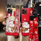 卡通腕帶OPPO Find X2 Pro手機殼 彩繪OPPO Find X2手機套 可愛毆珀R17/R15/R11保護套 R17 Pro保護殼