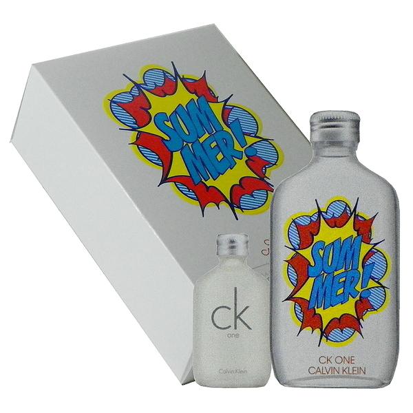 Calvin Klein Ck One Summer 2019 夏日淡香水 100ml 禮盒