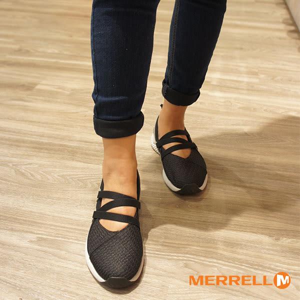 【MERRELL促銷8折】MERRELL1SIX8 MJ AC+ 輕量透氣休閒娃娃鞋 女鞋 百搭黑