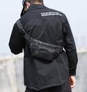 側背包 男士腰包休閒胸包多功能單肩包運動挎包小型背包斜挎包男包包 維多原創