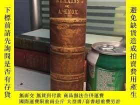 二手書博民逛書店REMAINS罕見OF ALEXANDER KNOW,ESQ 1