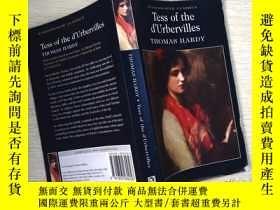 二手書博民逛書店Tess罕見of the d'UrbervillesY253683 Thomas Hardy(托馬斯·哈代)
