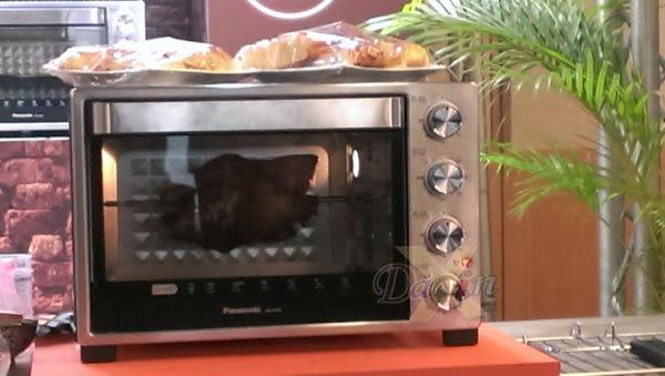 滿額折扣★國際牌32L烤箱(NB-H3200)■360°旋轉烤杈置