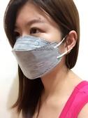 口罩 藍鷹牌專利設計L4-4D氣室立體剪裁四層式活性碳口罩(25枚入) 不織布面罩拋棄式防曬