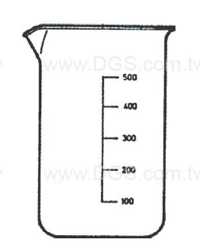 高型燒杯 具嘴 經 濟型 Beaker, Tall Form, with Spout