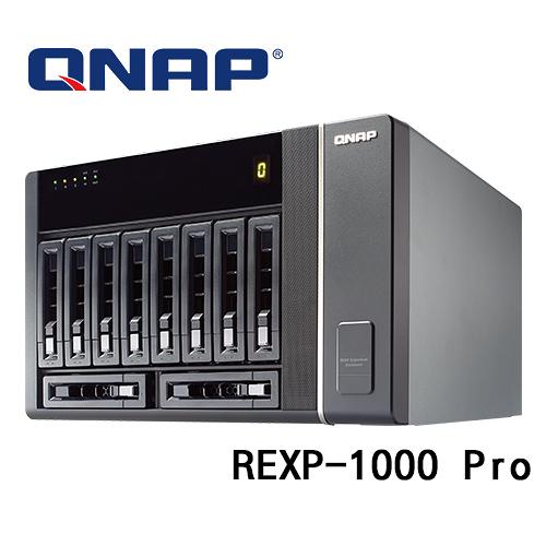 (訂貨要3-5工作天) QNAP 威聯通 REXP-1000 Pro 10Bay 儲存擴充設備