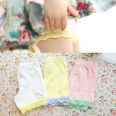 保險褲 純色蕾絲女童童裝 寶寶兒童短褲安全褲【全館免運】