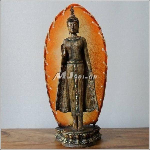 東南亞風格 工藝品擺件 樹脂佛像 泰國家居飾品