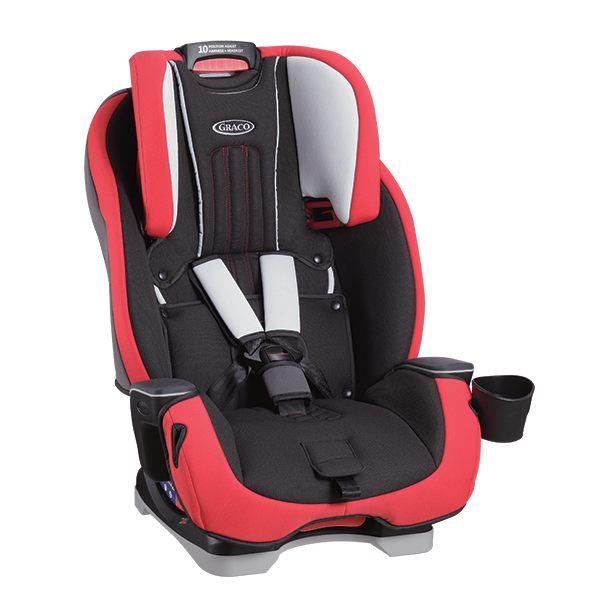 【愛吾兒】Graco 0-12歲長效型嬰幼童汽車安全座椅 MILESTONE™ 紅