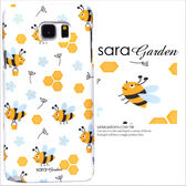 3D 客製手繪插畫Bee 蜜蜂碎花S6 S7 Note2 Note3 Note4 Note