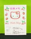【震撼精品百貨】Hello Kitty 凱蒂貓~留言便條-粉草莓
